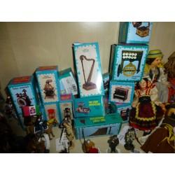 Pinocchio vintage in panno lenci Alberani Milano