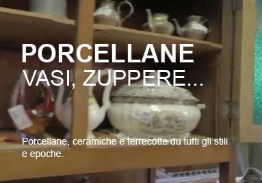 Ceramiche, porcellane e terrecotte.